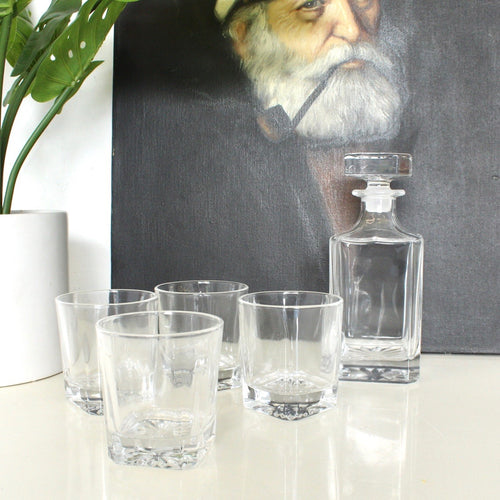 5 Piece Decanter Set