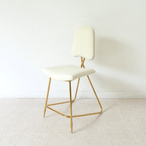 Zina Counter Stool in Cream