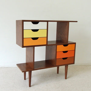 Shelly Color Block Bookcase