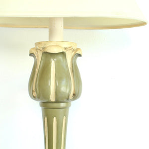 Green Gold Regency Sconces