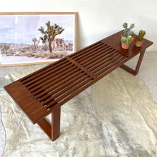 Load image into Gallery viewer, Joni Slatted Bench