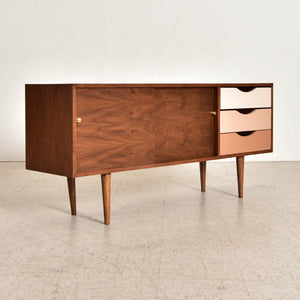 """Blare"" Credenza in Pink and Nude Tones"