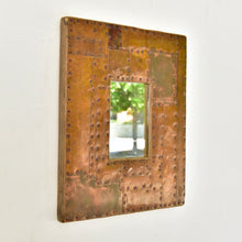 Load image into Gallery viewer, Copper Framed Mirror