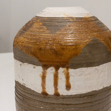 Load image into Gallery viewer, Drip Glazed Pottery Metallic