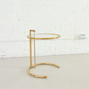 Brass Circles Side Table