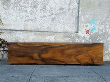 Load image into Gallery viewer, Solid Trunk Rosewood Bench