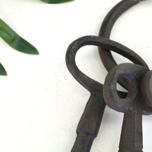 Load image into Gallery viewer, Iron Antique Set of Oversized  Keys Decor