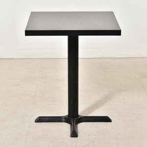 Black Ebonized Wood Dinette Table
