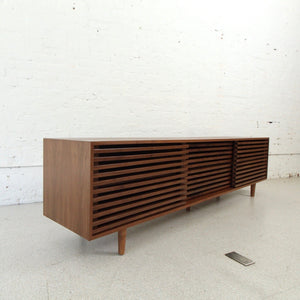 Harlow Slatted Console