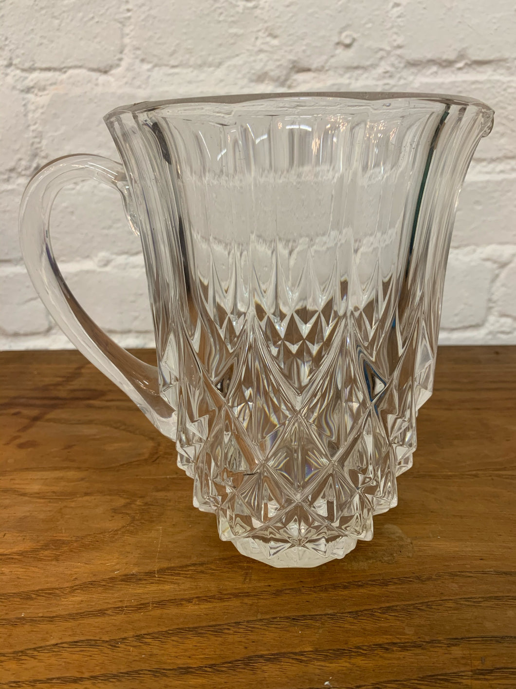 Crystal Cut Pitcher