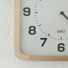 Load image into Gallery viewer, Modern Blonde Clock