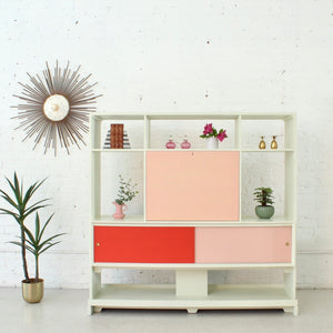 1960's Restored Double Sided Room Divider