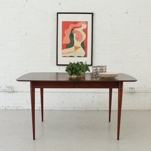 1960's Fantastic Dining Table As Found
