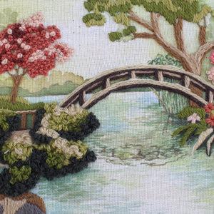 Japanese Garden Embroidery