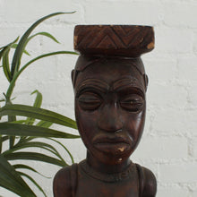 Load image into Gallery viewer, African Wood Carved Sculpture