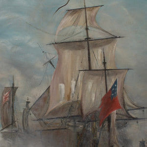 Original Nautical Oil Painting