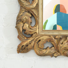 Load image into Gallery viewer, Gold Guilded Ornate Mirror