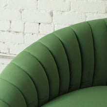 Load image into Gallery viewer, Selena Green Pleated Sofa