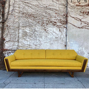Desmond Sofa in Mustard