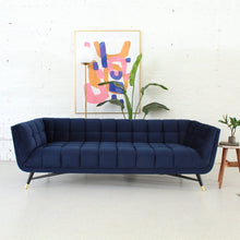 Load image into Gallery viewer, Gianna Deep Blue Sofa