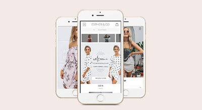 Introducing our Esther & Co. App