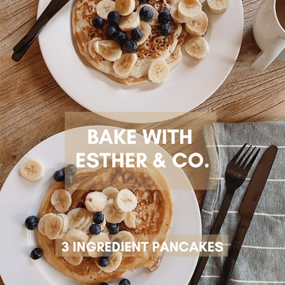 WEEKEND PANCAKE RECIPE