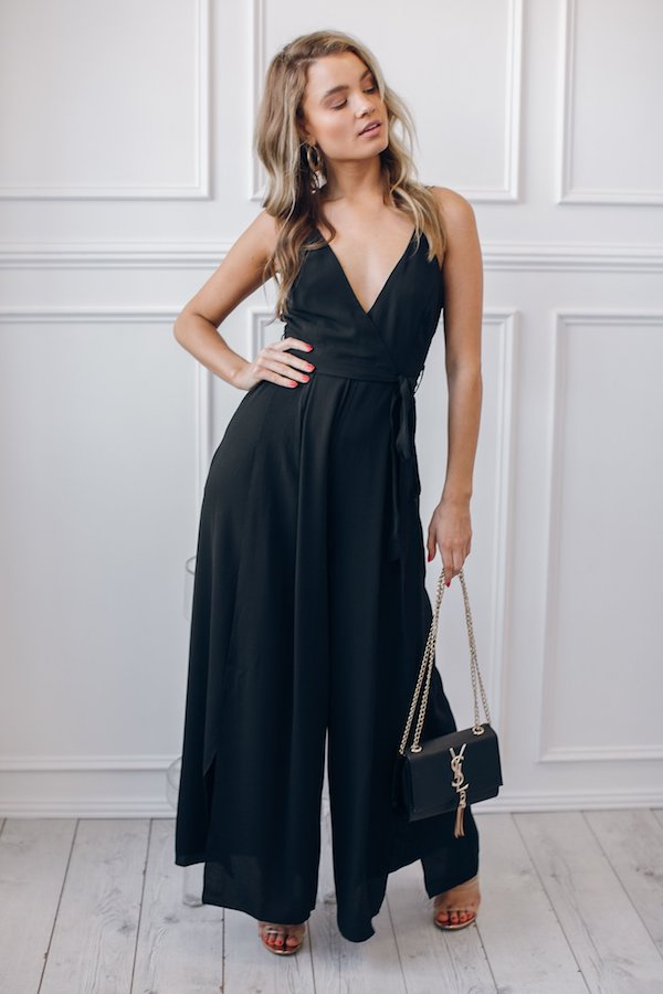 Virgo Jumpsuit - Black