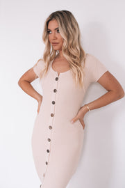 Audrie Dress - Beige