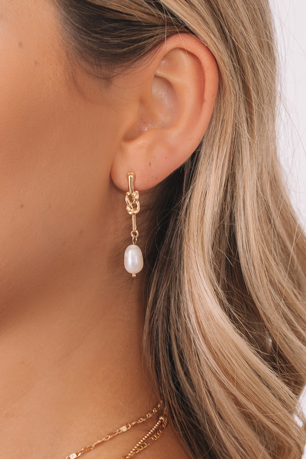 Karah Earrings - Gold-Accessories-Womens Accessory-ESTHER & CO.