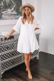 Beth Dress - White