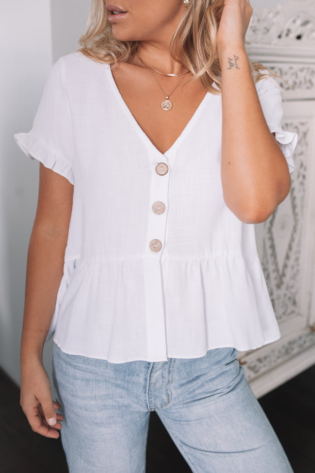 Mariam Top - White