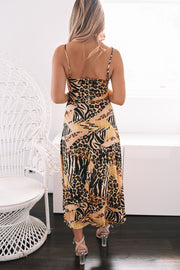 Karago Dress - Yellow Print