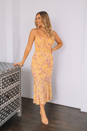 Masie Dress - Yellow Print
