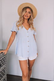 Koa Top - Blue