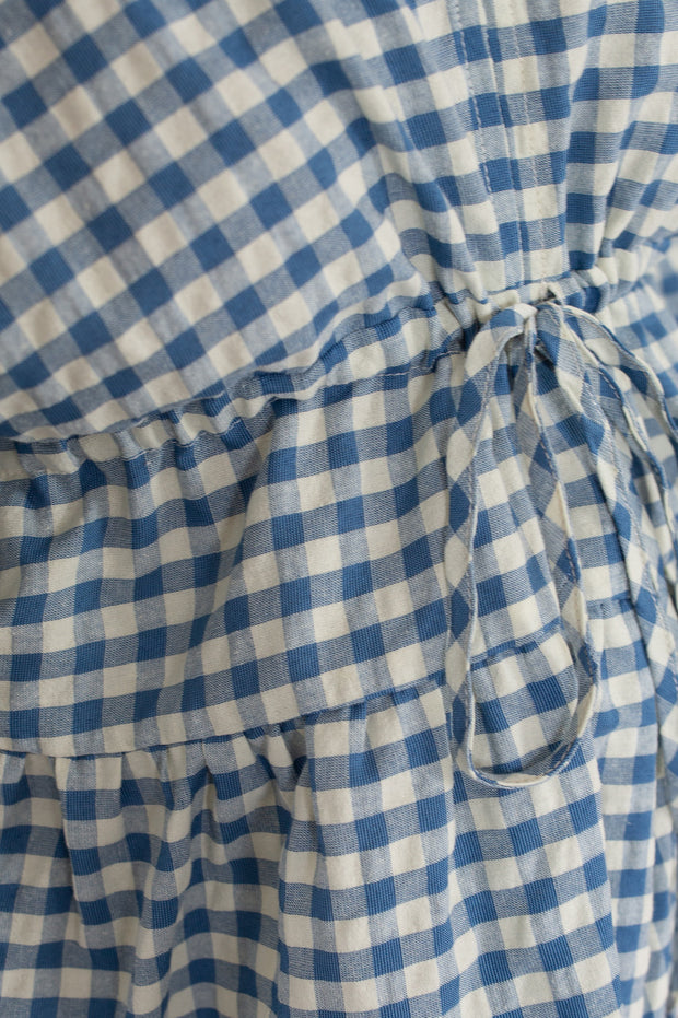 Keeks Top - Navy Gingham