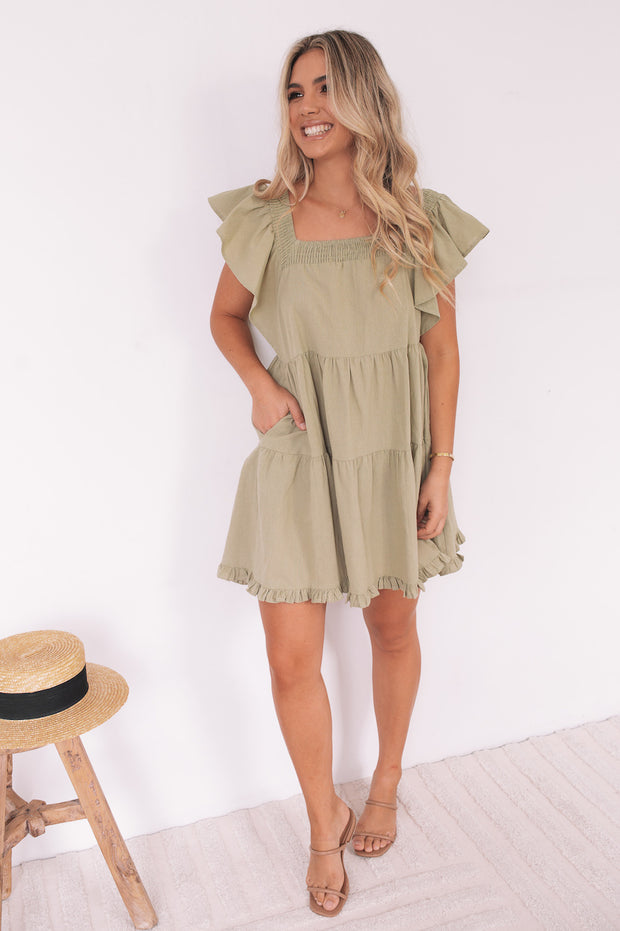 Josie Dress - Green