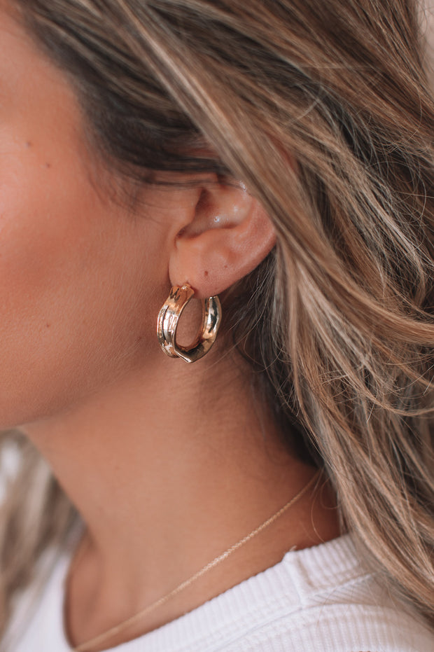 Mabelle Earrings - Gold