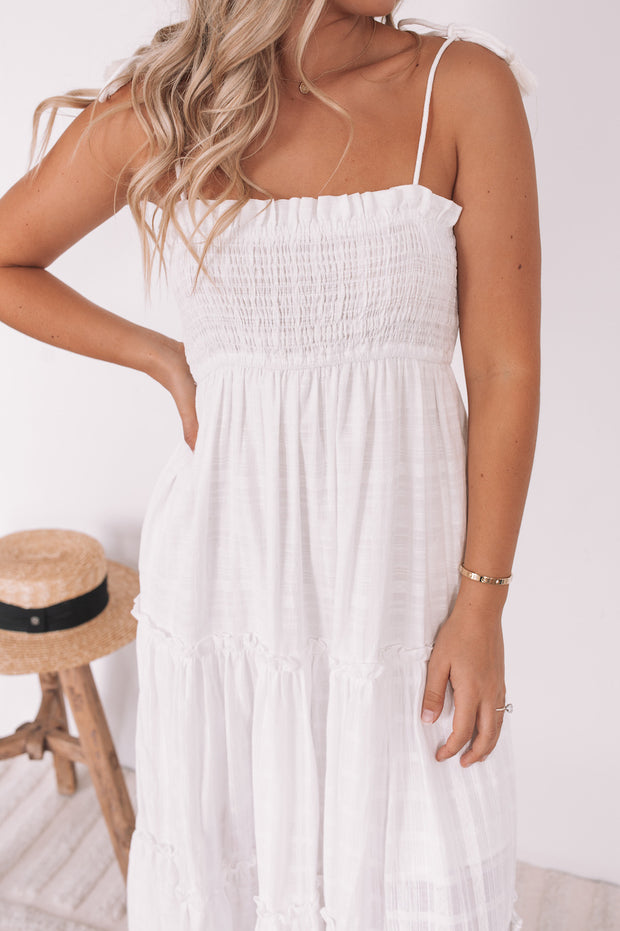 Delilah Dress - White