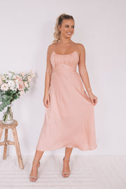 Bestie Dress - Peach