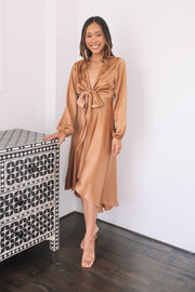 Bryleigh Dress - Soft Rust