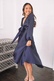 Bryleigh Dress - Navy