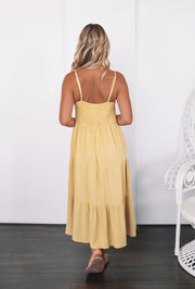 Sonya Dress - Yellow