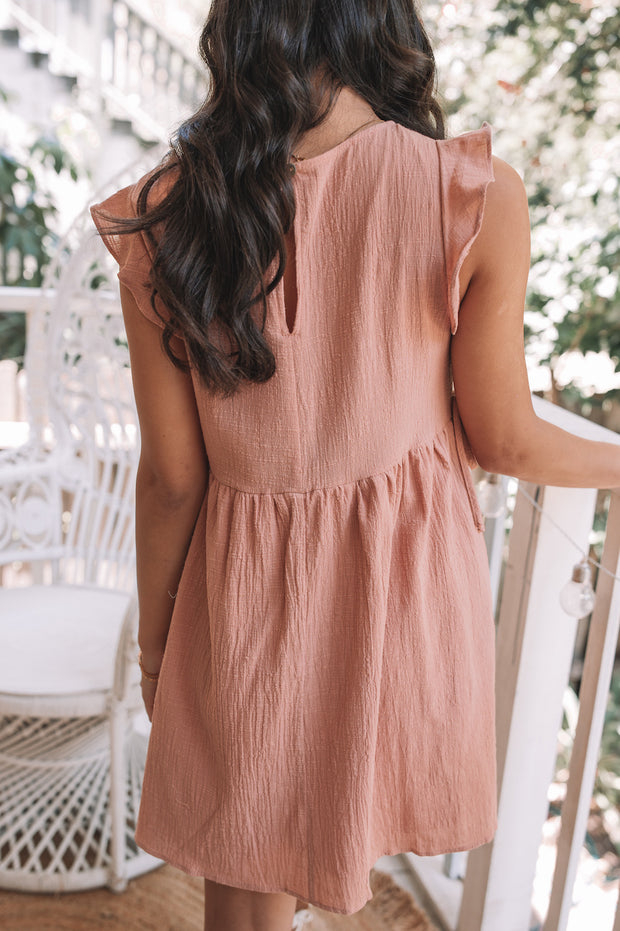 Laylin Dress - Rust