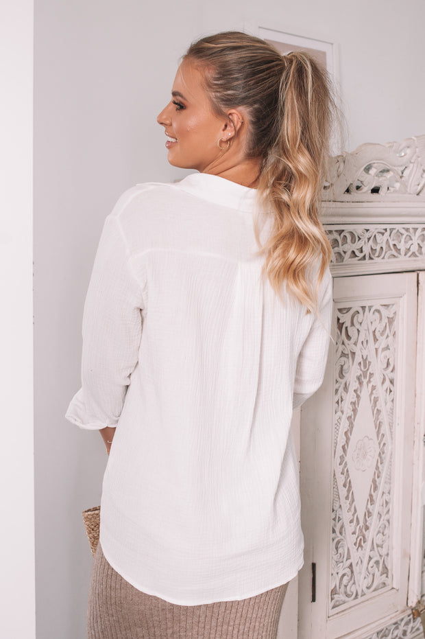 Pisces Top - White