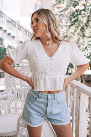 Alisa Top - White