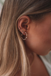 Vera Hoop Earrings - Gold