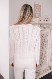 Nieva Jumper - White