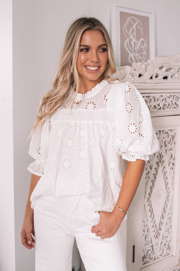 Karlee Top - White