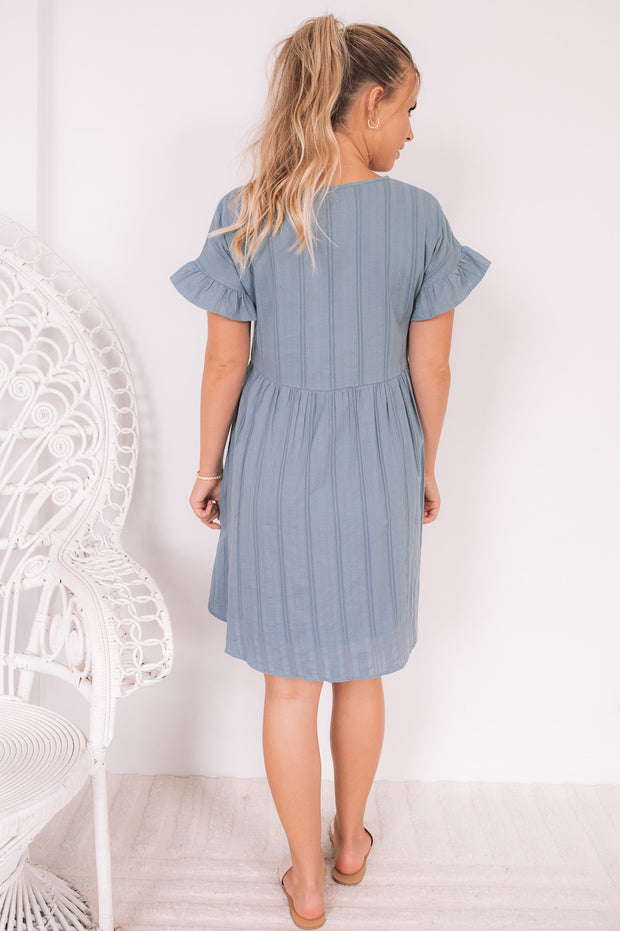 Janae Dress - Blue