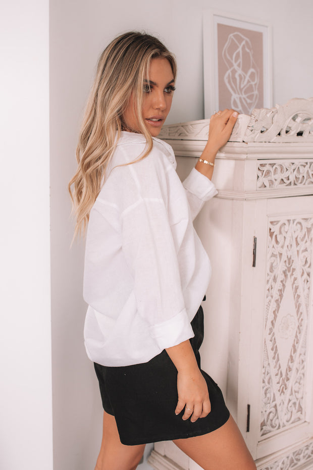 Brooklyn Shirt - White